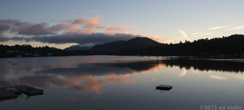 Sunrise on Mirror Lake