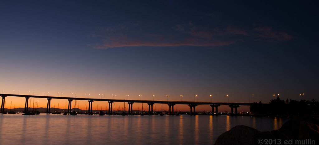 Sunrise @ Coronado Bridge