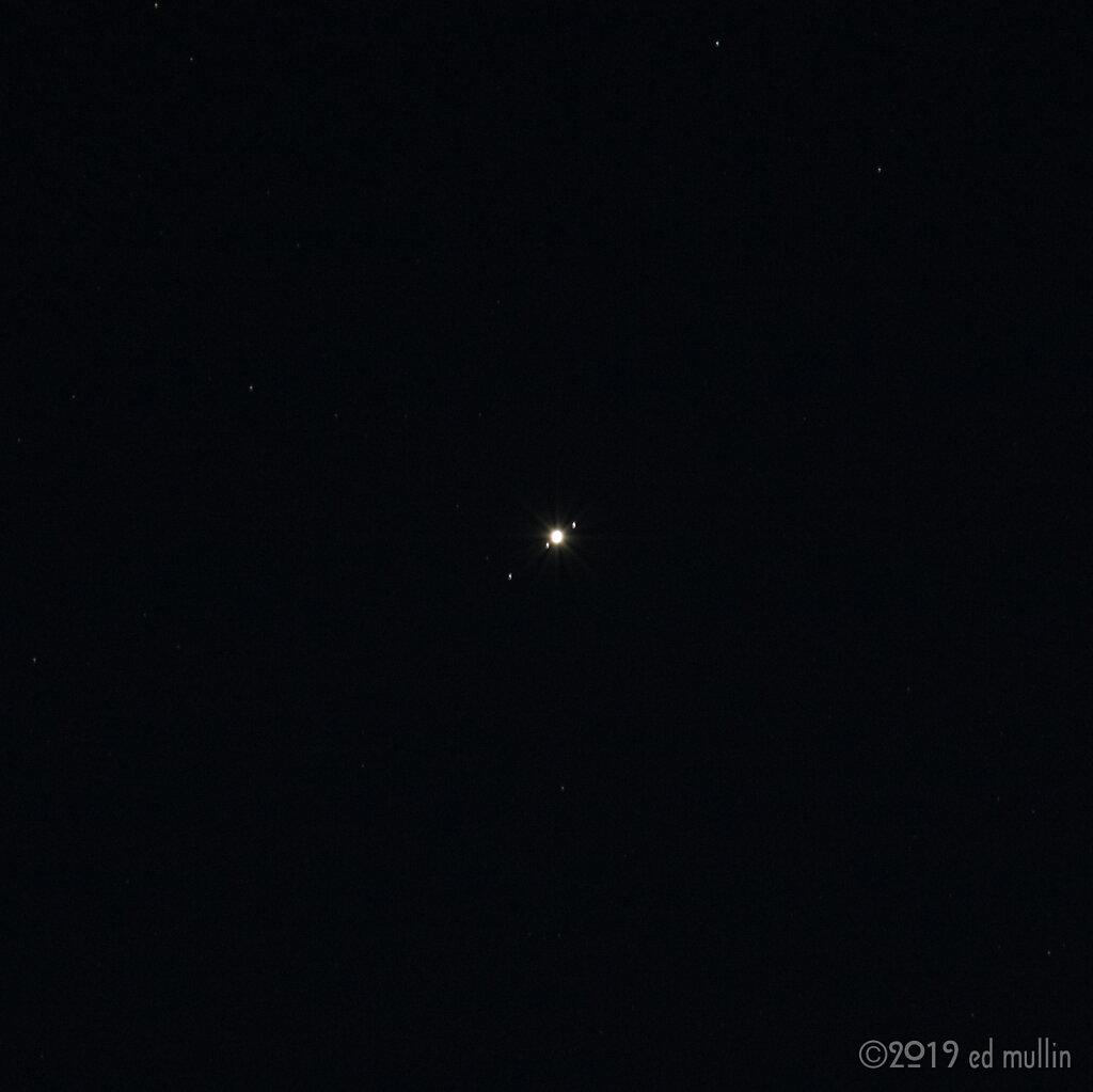jupiter & its moons